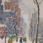 Feb11-730Guy Carleton Wiggins, American, 1883-1962, NYC18000