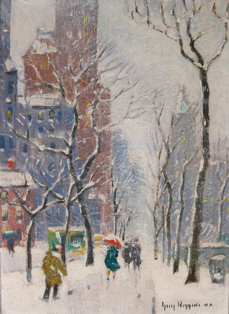 Feb11-730Guy Carleton Wiggins, American, 1883-1962, NYC18000