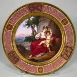 ZDSC03759Assembled Set Of Eleven Royal Vienna Plates, Late 19th C. .5241.2