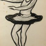 Abraham Walkowitz, Russian- American, 1878-1965, Dancer