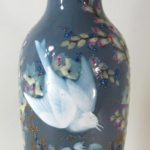 Porcelain Vase Decorated In Pate-sur-Pate By J. Gely, Late 19th C, Sold For $14,401