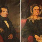 American School, C. 1830, Pair Of Pendant Portraits Of A New York Couple