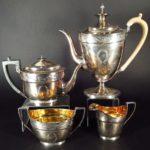 George III Sterling Silver Tea & Coffee Service, John Emes, London, 1800-1804