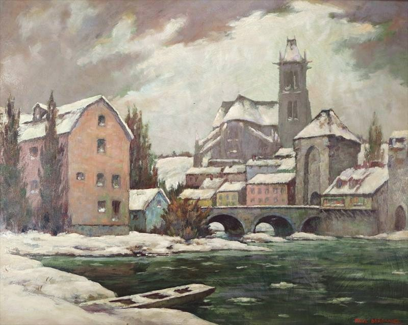 Paul F. Berdanier, Grip Of Winter, C. 1940