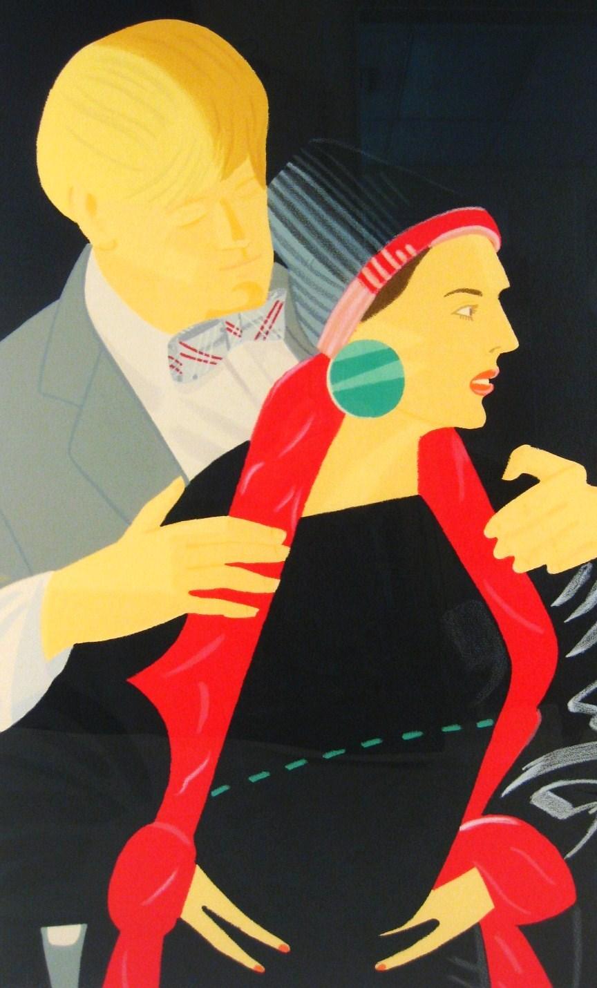 Alex Katz, Pas De Deux #5, 1994