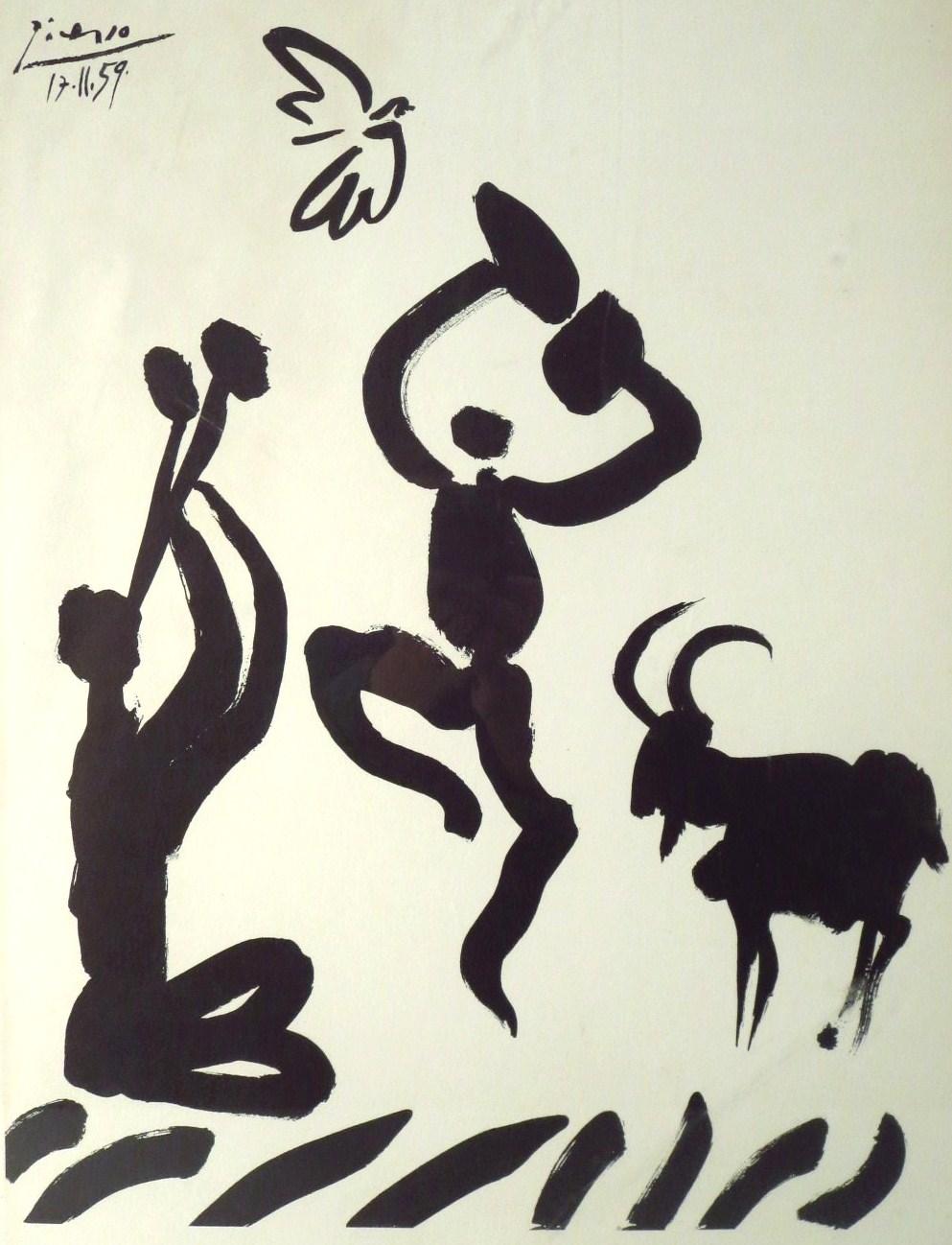 After Pablo Picasso, La Danse Du Berger