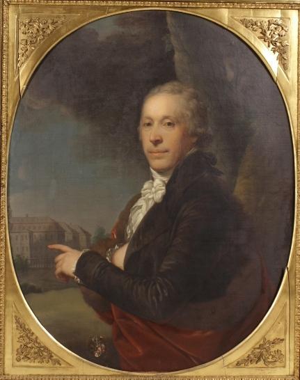 Austrian-Hungarian School Portrait Of Ignaz Theodor Pachner Von Eggenstorf (1760 -1814). Sold For $27,500