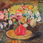 George Leslie Hunter (1877-1931) Floral Still Life. Sold For 16.,876