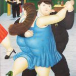 H. Bacall, After Raphael Fernando Botero, 20th C., Dancers