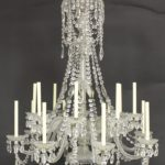 Baccarat Crystal 14 Light Chandelier. Sold For $7,937 On October 15.