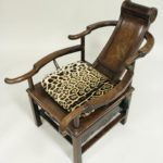 Chinese Hardwood Opium Chair, 19th C.