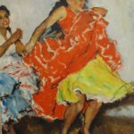 Pal Fried, Hungarian-American, 1893-1976, Dancers