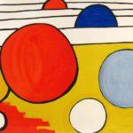 Alexander Calder, Red, Blue, Yellow Circles
