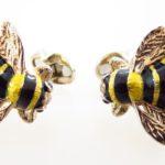 Bumble Bee Cufflinks By Deakin & Francis