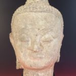 Southeast Asian Head Of Buddha