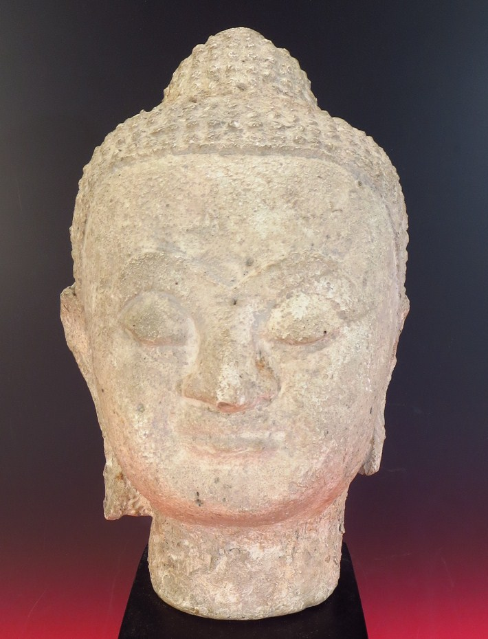 Southeast Asian Head Of Buddha