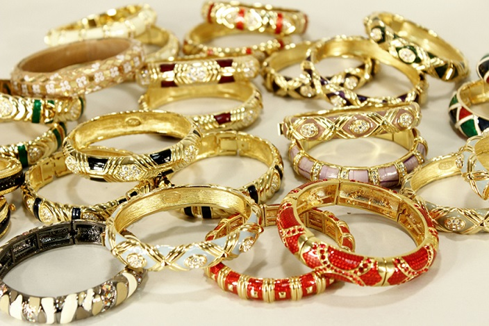 5 – Group Of Joan Rivers Bracelets