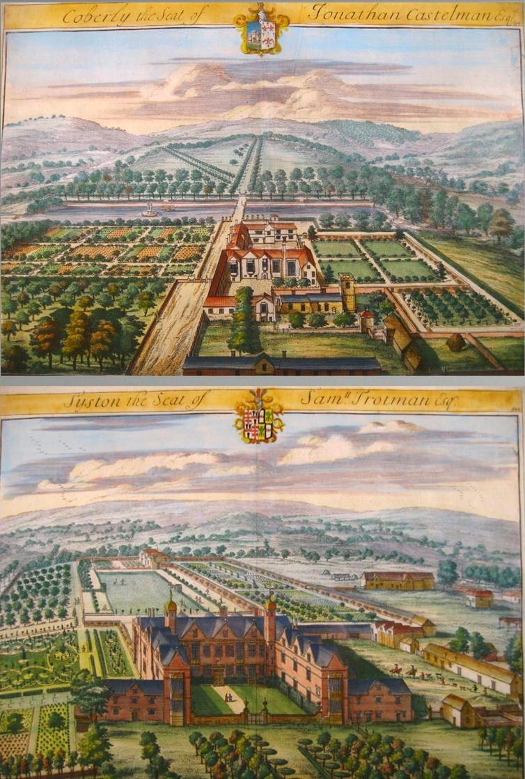 2 Hand Colored Map Engravings, By Johannes Kip (1653-1722), London, C. 1709. Sold For $875. Feb 2009. ITEM NO. 1275138