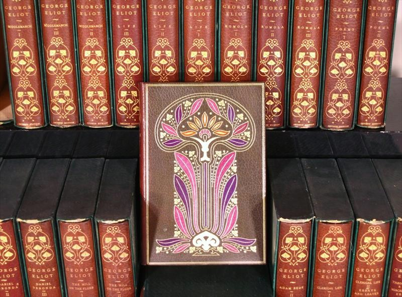 24 Volumes By George Eliot, Artist's Edition. Sold For $4,375.