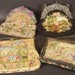 4 Petitpoint Handbags, 19th-20th C. Sold For $2,425.