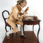 A Musical Automaton Figure Of A Writer, French And Swiss, 3rd Quarter 19th C.. Sold For $13,800.