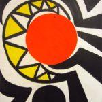 Alexander Calder, American, 1898-1976, 'Red Core', 1966, Gouache. Sold For $81,000. No. 2958695