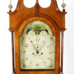 American Federal Mahogany Tallcase Clock, C.1790. Sold For $5,000