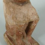 Ancient Egyptian Limestone Carving Of The Ape Of Thoth, Late Period, C.600 BC. Sold For $7,643.