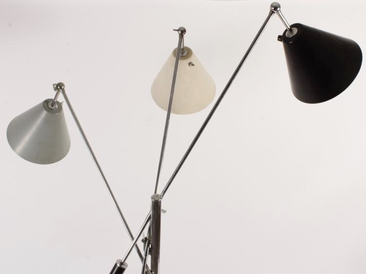 Arredoluce Monza Triennale Lamp, Italy, C. 1968, Sold For $7,187