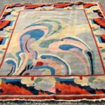 Art Deco Chinese Rug, First Half 20th C. Sold For $10,001.