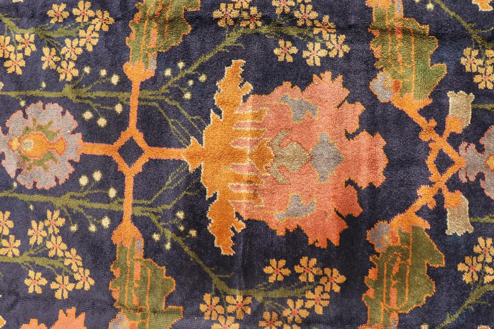 Arts And Crafts Rug, Design Attrib. Gavin Morton. Sold For $6,370