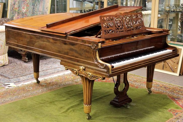 Bechstein Grand Piano, Mahogany & Rosewood, 1882-1892, Sold For $7,187