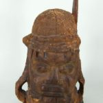 Benin Commemorative Head, Nigeria, C. 1780-1850. Sold For $2,500.