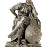 Benvenuto Cellini In His Workshop, 19th C. Bronze. Sold For $4,750