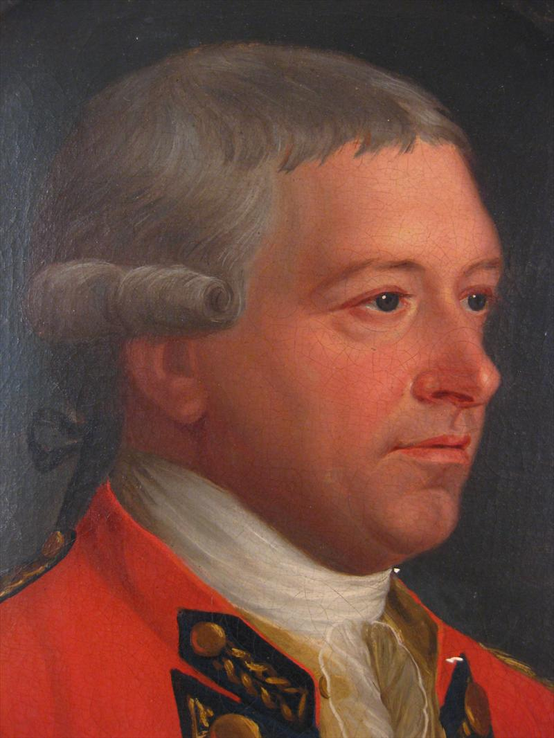 British School, 18th Century Portrait Of General. Sold For $12,600
