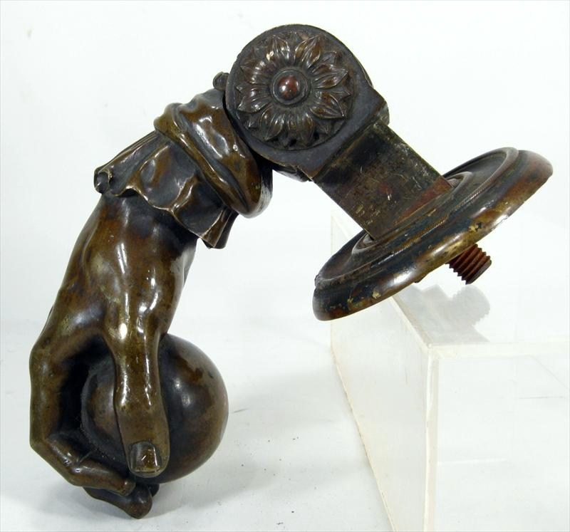 Bronzed Hand-Form Door Knocker, American Or European, 19th C. Sold For $1,500.