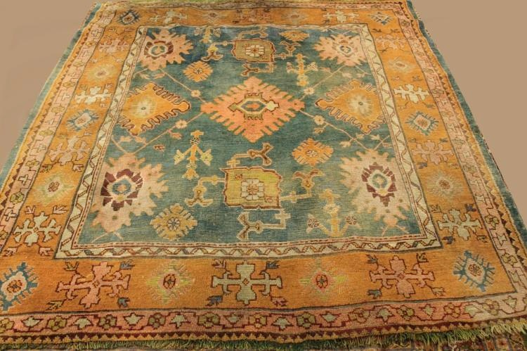 Caucasian Tribal Hand Knot Wool Carpet, Sold For $2,875