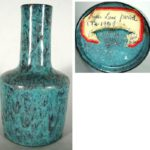 Chinese Robin's Egg Blue Glaze Vase. Sold For $234,000.