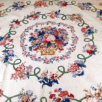 Chintz Applique Floral Quilt, 19th C. Sold For $1,500.