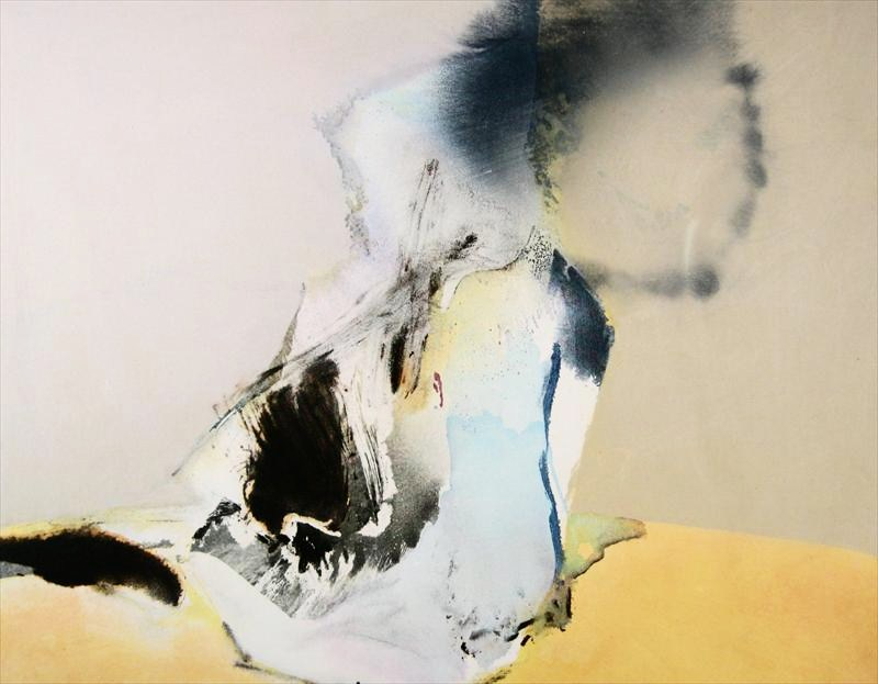 Chuang Che, B. 1934, 'Abstract' 1979-1980, Oil On Canvas. Sold For $18,600.