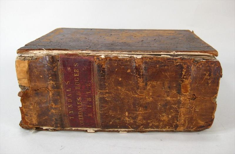 Coverdale Bible, In English (Myles Coverdale Translation), Zurich 1550. Sold For $8,687.