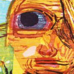 Dana Schutz, B.1976, Untitled (One Eyed Girl) Print. Sold For $3,625