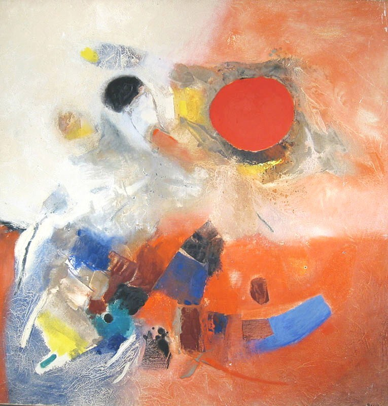 Edmondo Bacci, Italian, 1913-1989, 'Alto Avvenimento 325', Oil On Canvas. Sold For $30,000.