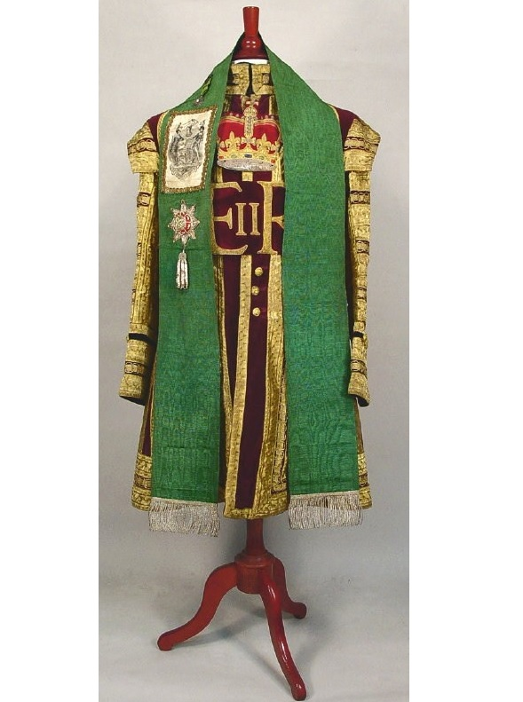 English Footman's Dress Worn At Queen Elizabeth II Coronation, June 2nd, 1953. Sold For $5,375.