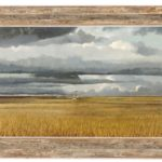 Eric Sloane, American, Prairie Farm, Oil On Masonite. Sold For $9,375