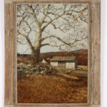 Eric Sloane, American, Sycamore, Oil On Masonite. Sold For $9,375