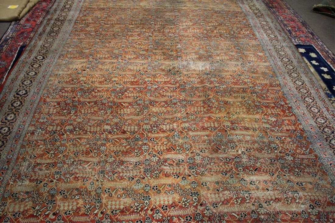 Fereghan Herati Carpet, Circa 1900. Sold For $4,125