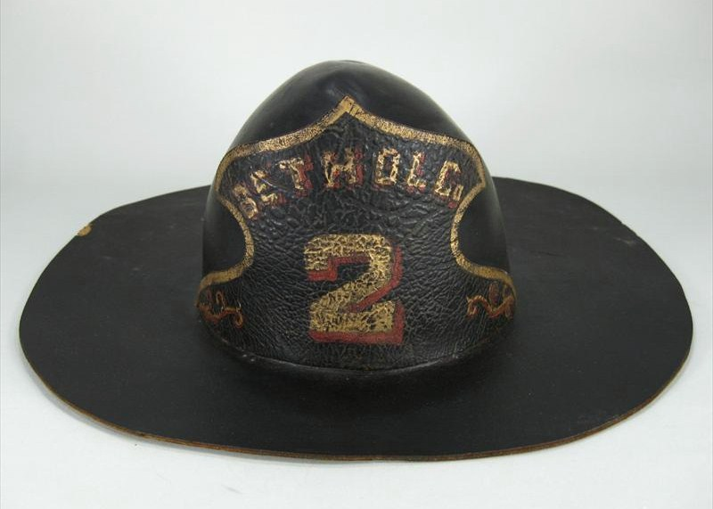 Fireman's Pressed Felt Parade Hat, Bethol Co., American, Mid 19th C. Sold For $2,375.