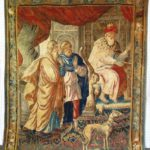 Flemish Tapestry, Brussels, 17th C. Sold For $10,687.