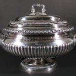 George III Silver Covered Soup Tureen, London, 1817. Sold For $7,187.